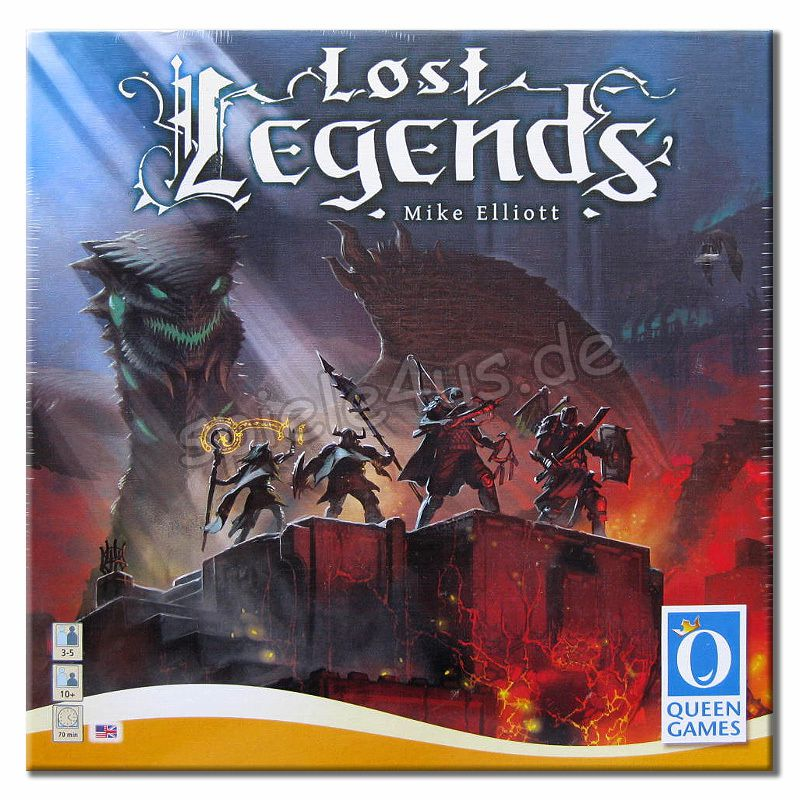 800x800 Lost Legends ENGLISCH Queen Games