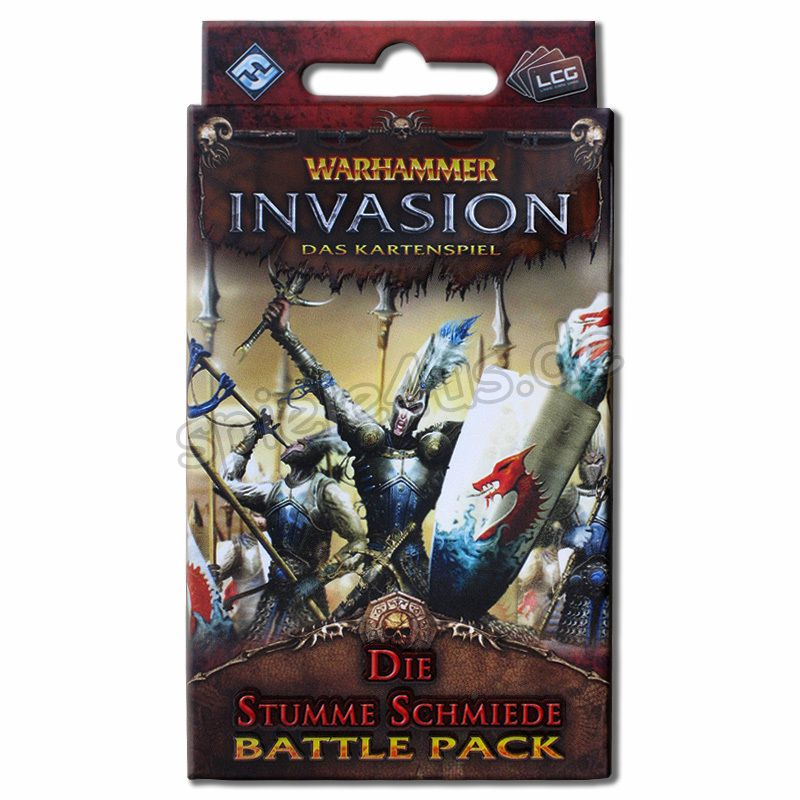 800x800 Warhammer Invasion Battle Pack Stumme Schmiede FFG/Heidelberger